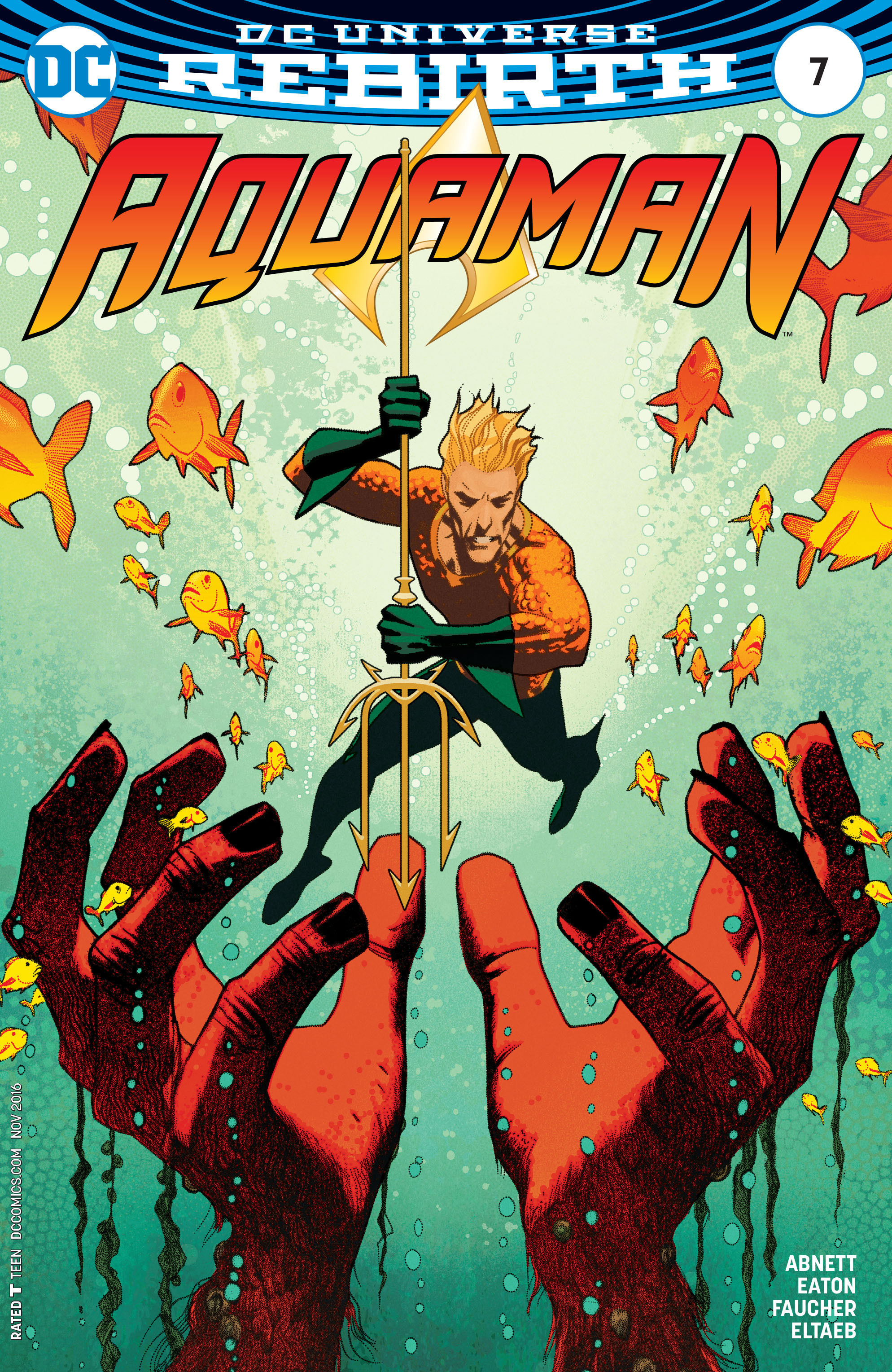 Read online Aquaman (2016) comic -  Issue #7 - 3