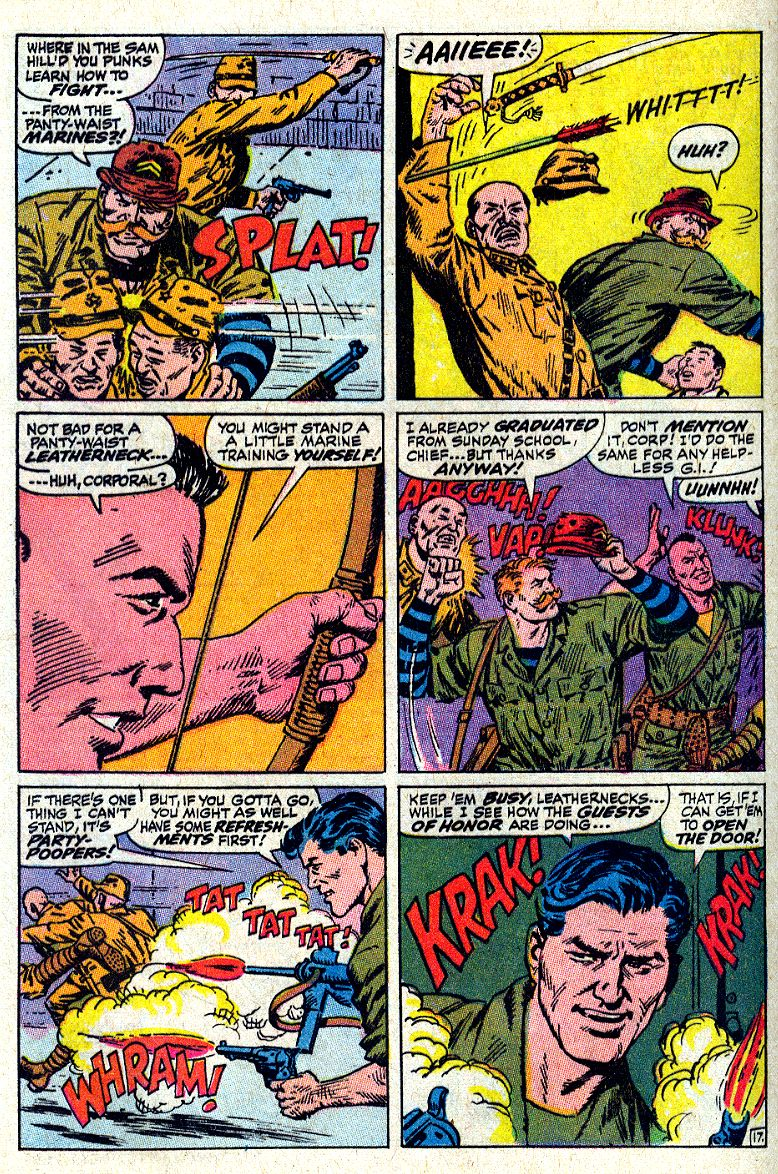 Read online Sgt. Fury comic -  Issue #64 - 24