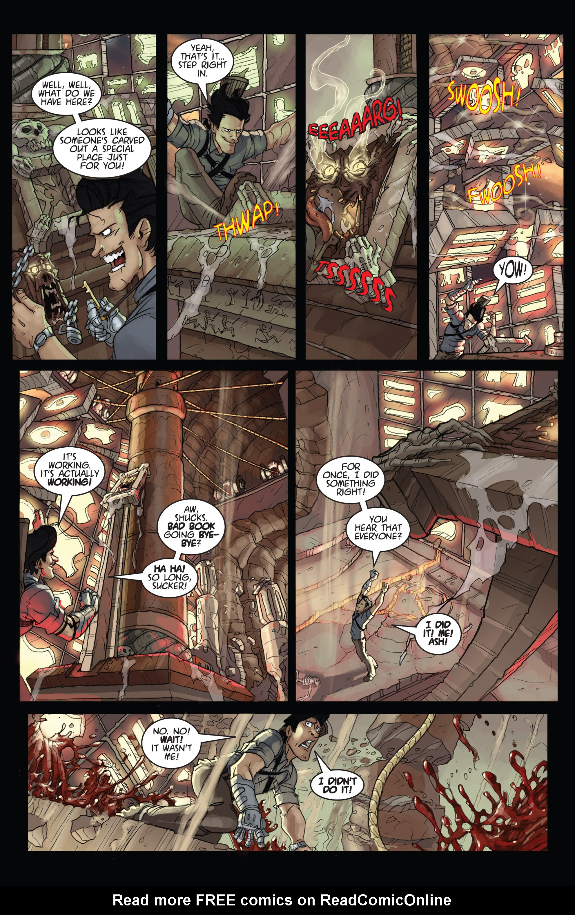 Read online Army of Darkness: Ashes 2 Ashes comic -  Issue #4 - 11