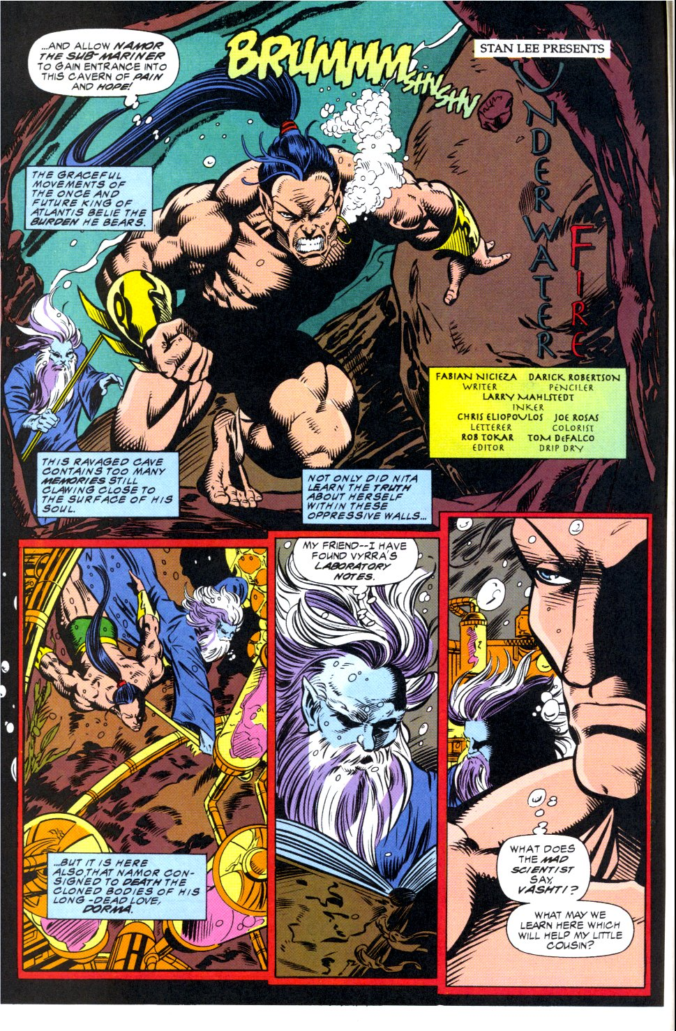 The New Warriors Issue #44 #48 - English 3