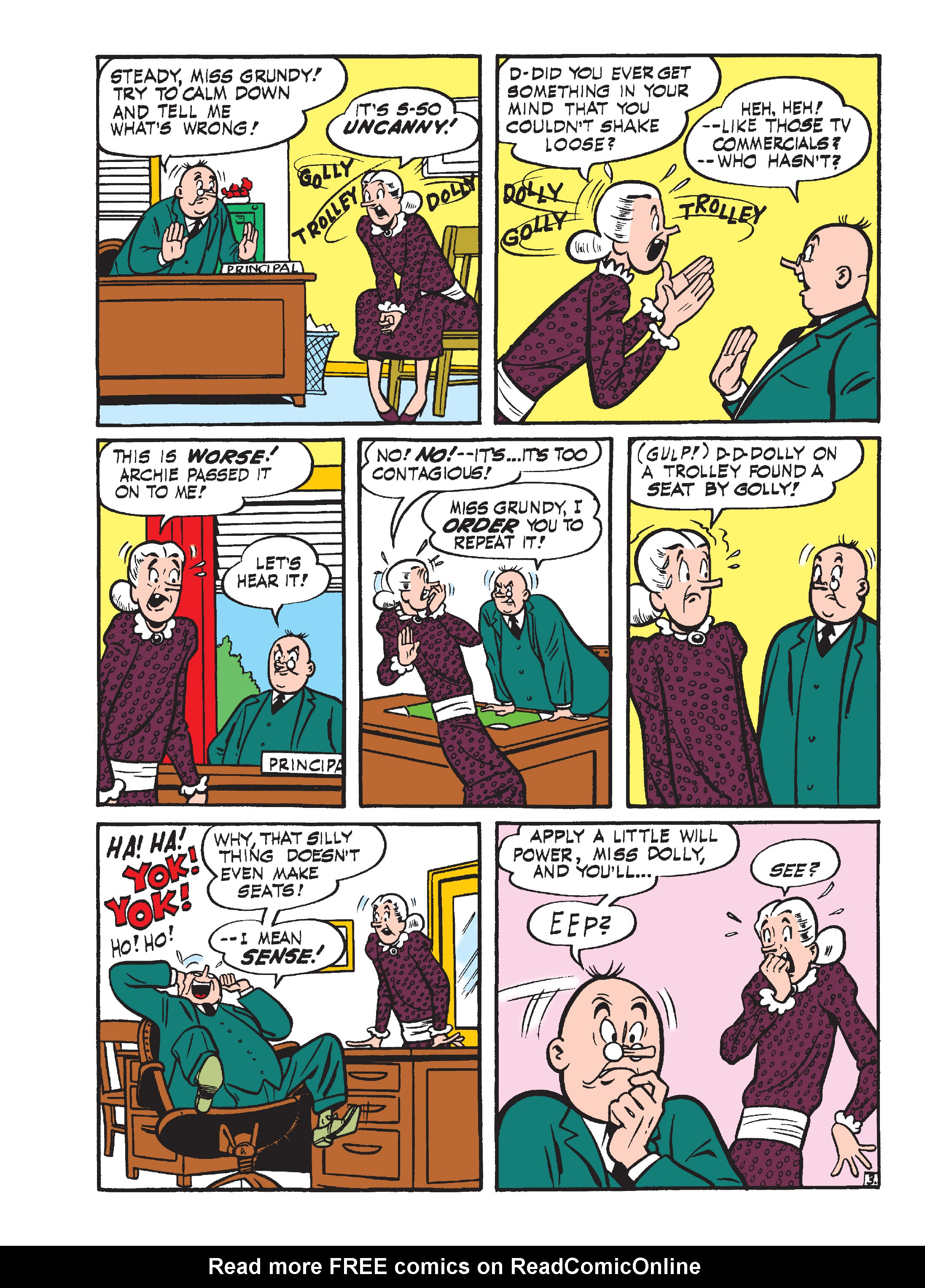 Read online Archie's Funhouse Double Digest comic -  Issue #15 - 150