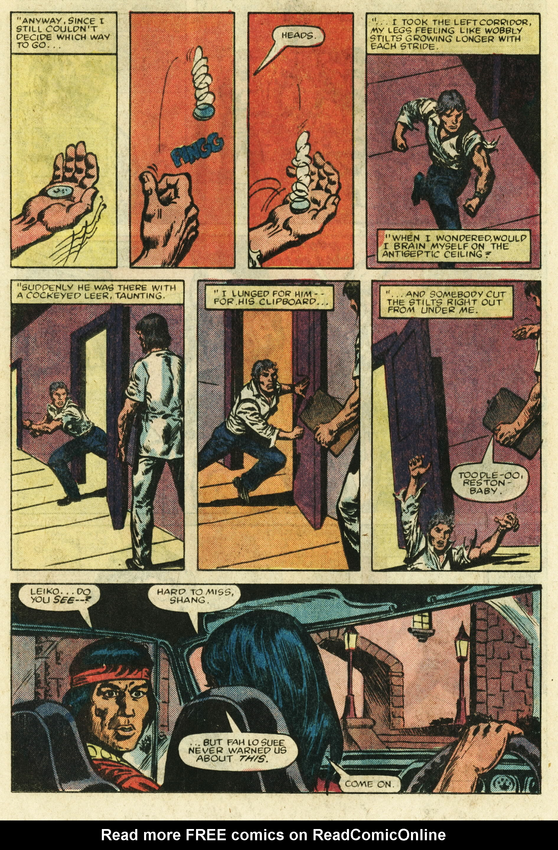 Read online Master of Kung Fu (1974) comic -  Issue #122 - 15