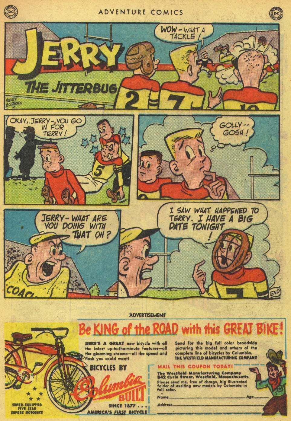 Read online Adventure Comics (1938) comic -  Issue #162 - 25