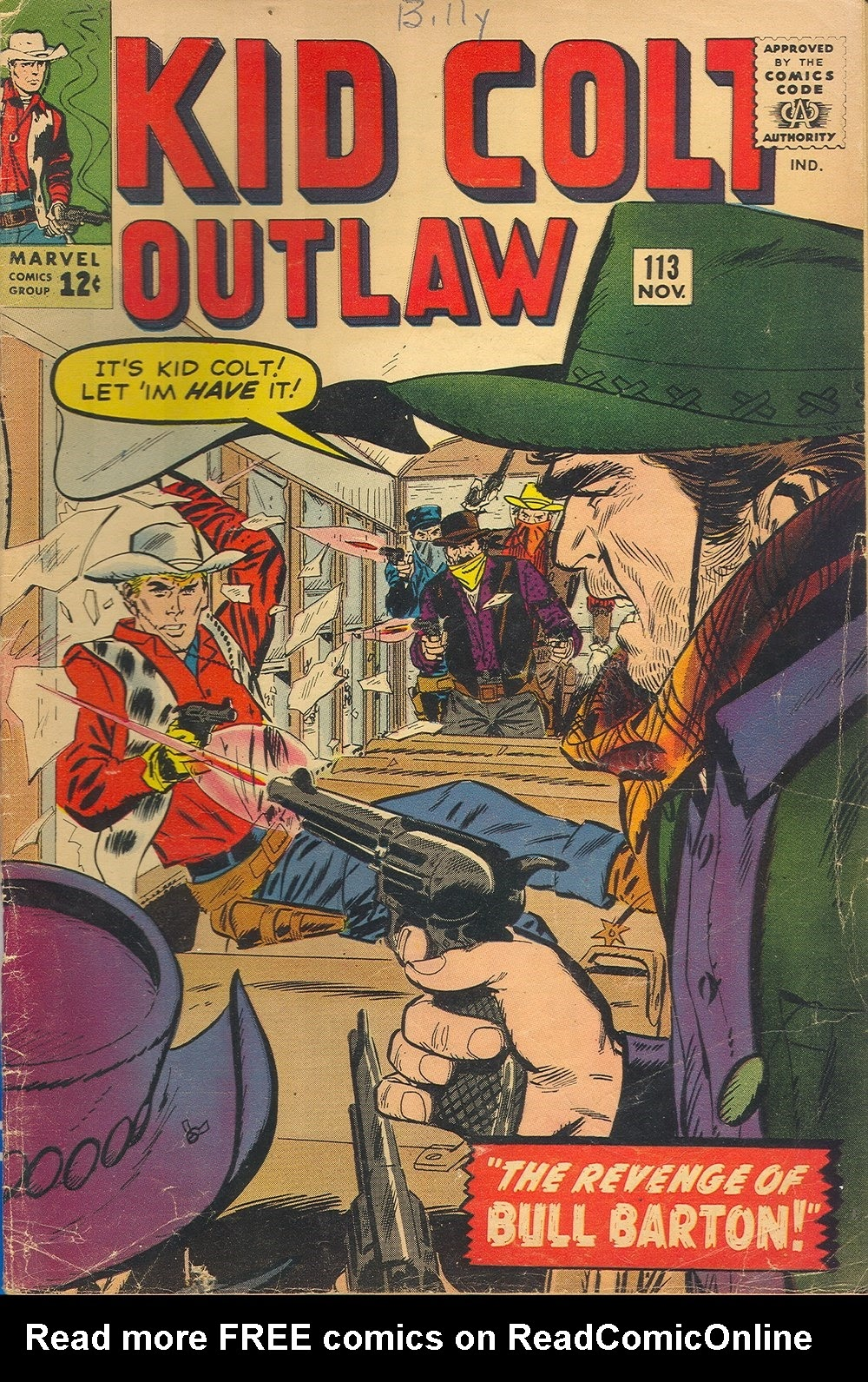 Kid Colt Outlaw issue 113 - Page 1