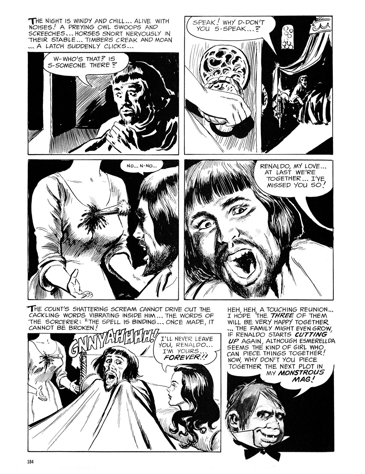 Read online Eerie Archives comic -  Issue # TPB 1 - 185