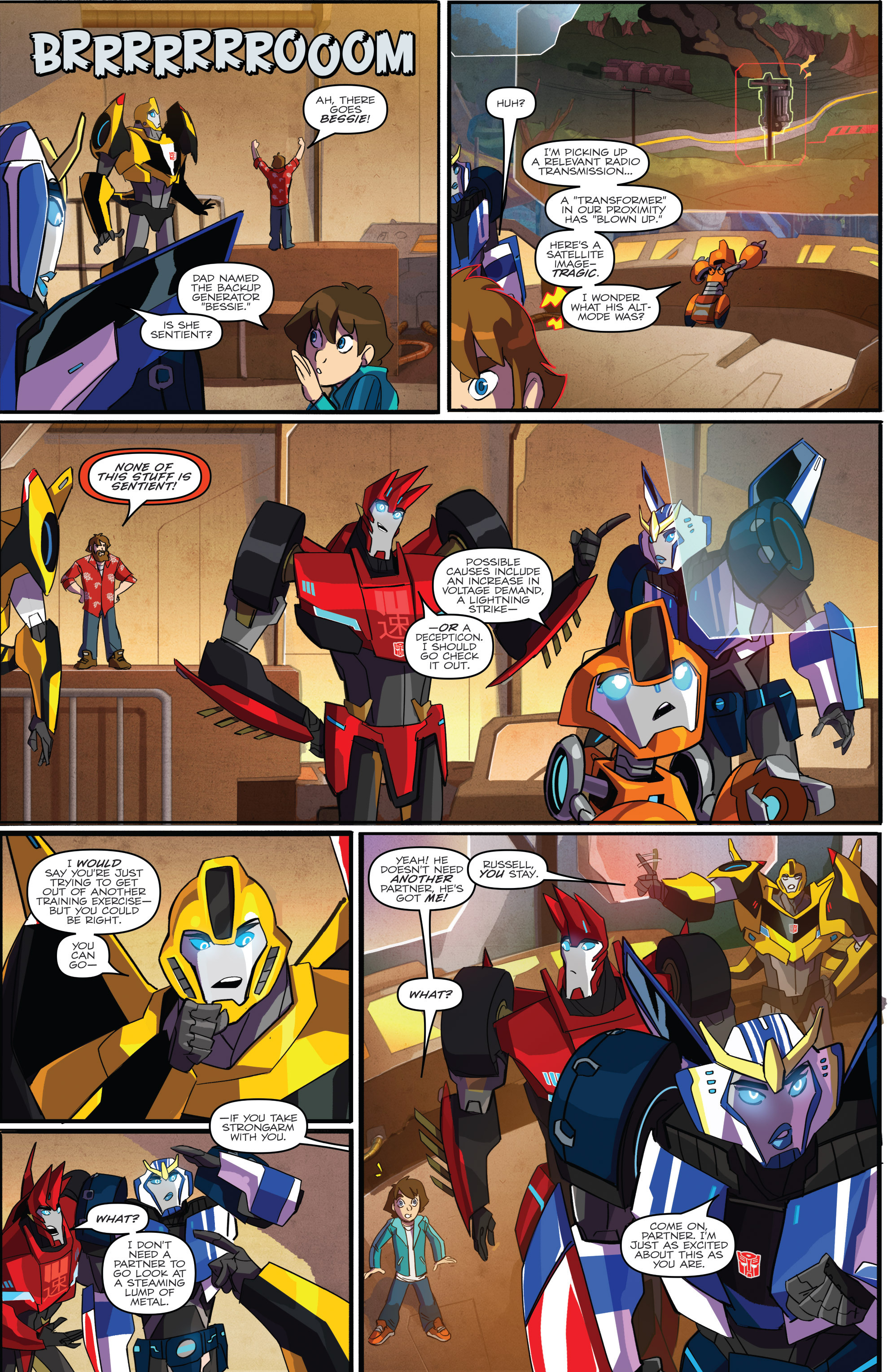 Read online Transformers: Robots In Disguise (2015) comic -  Issue #1 - 8