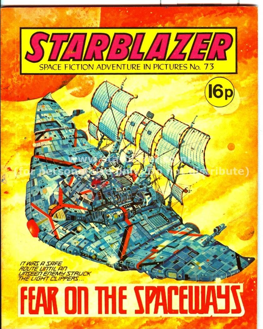 Starblazer issue 73 - Page 2