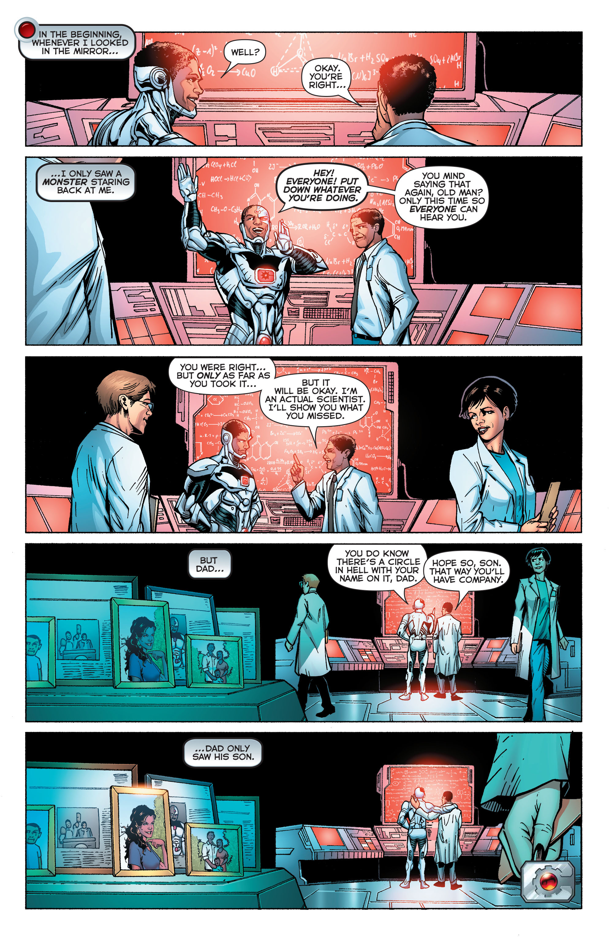 Read online Secret Origins (2014) comic -  Issue #5 - 12