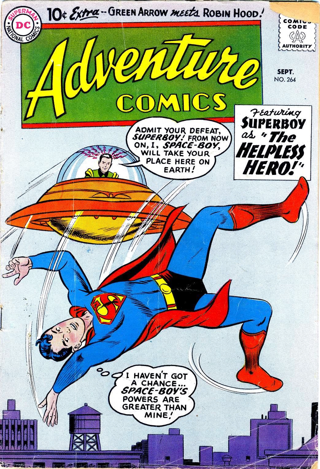 Read online Adventure Comics (1938) comic -  Issue #264 - 1