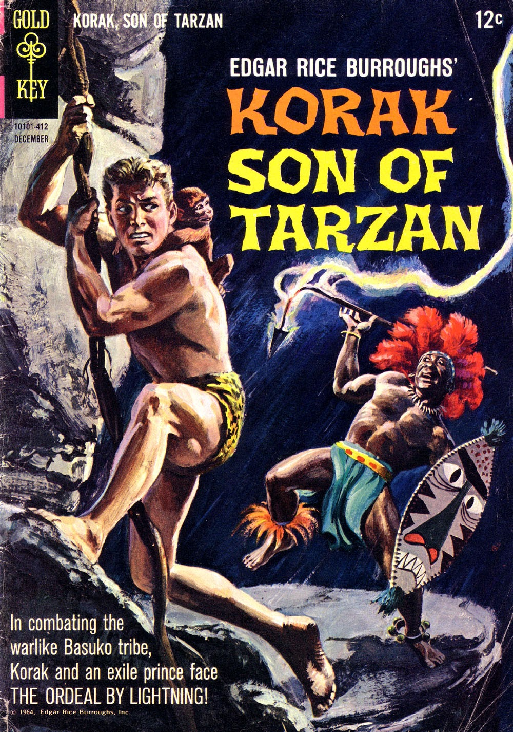 Korak, Son of Tarzan (1964) issue 6 - Page 1