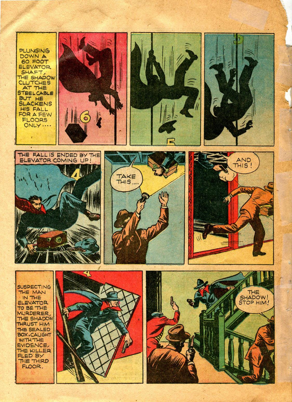 Read online Shadow Comics comic -  Issue #9 - 12