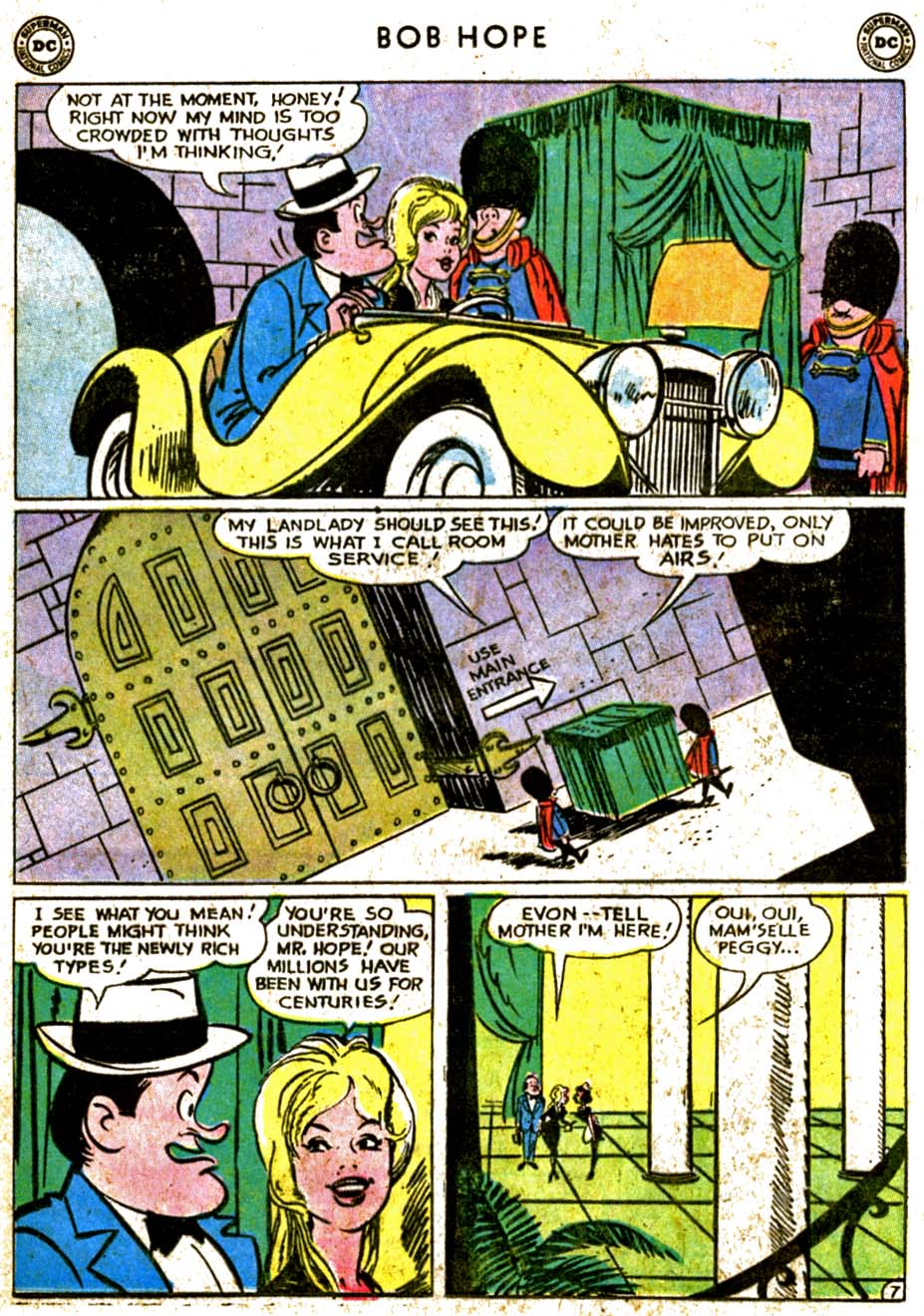 The Adventures of Bob Hope issue 77 - Page 9