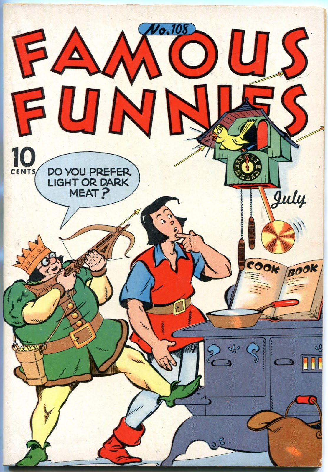 Read online Famous Funnies comic -  Issue #108 - 1