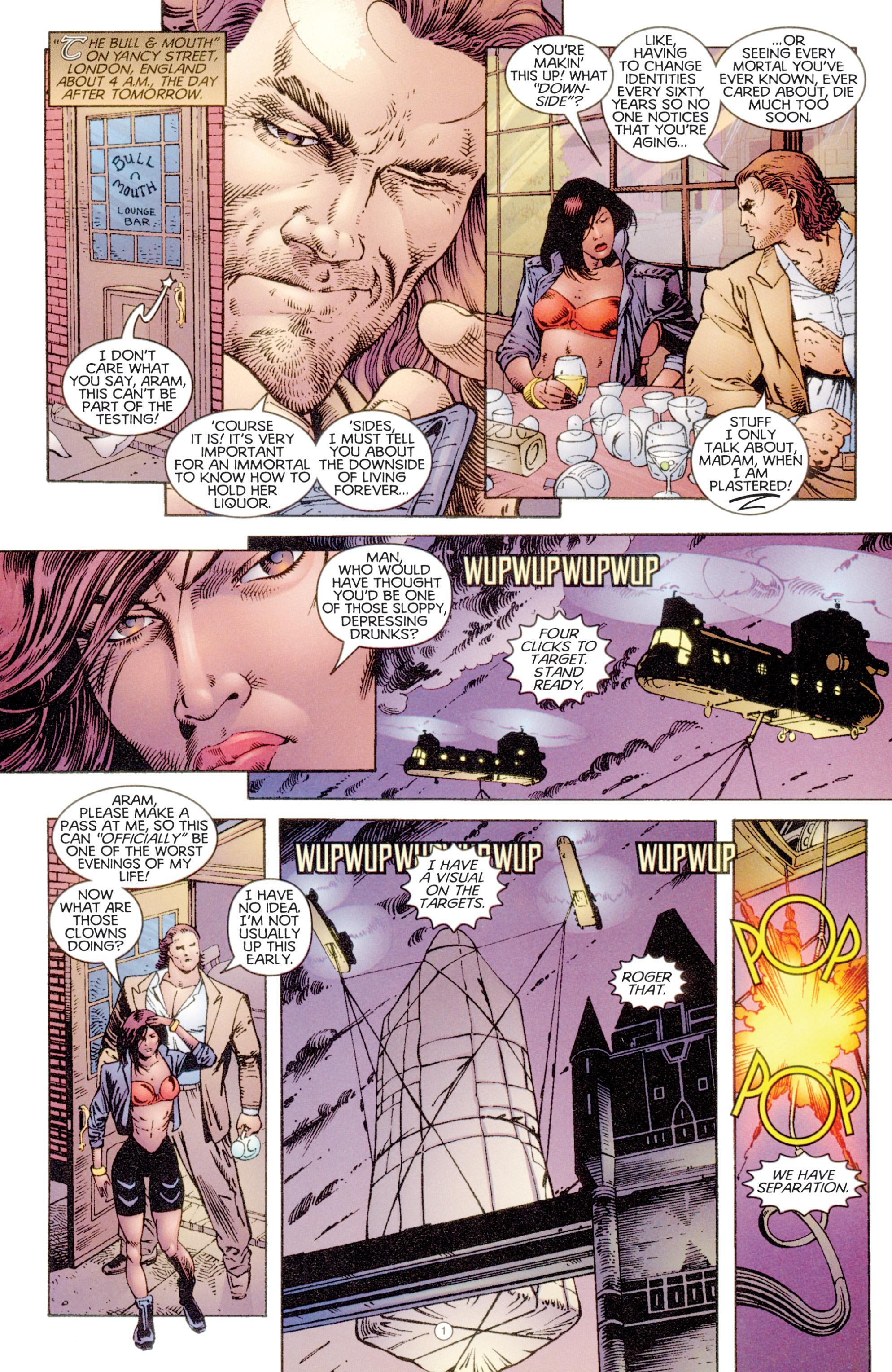 Read online Eternal Warriors comic -  Issue # Issue Digital Alchemy - 2