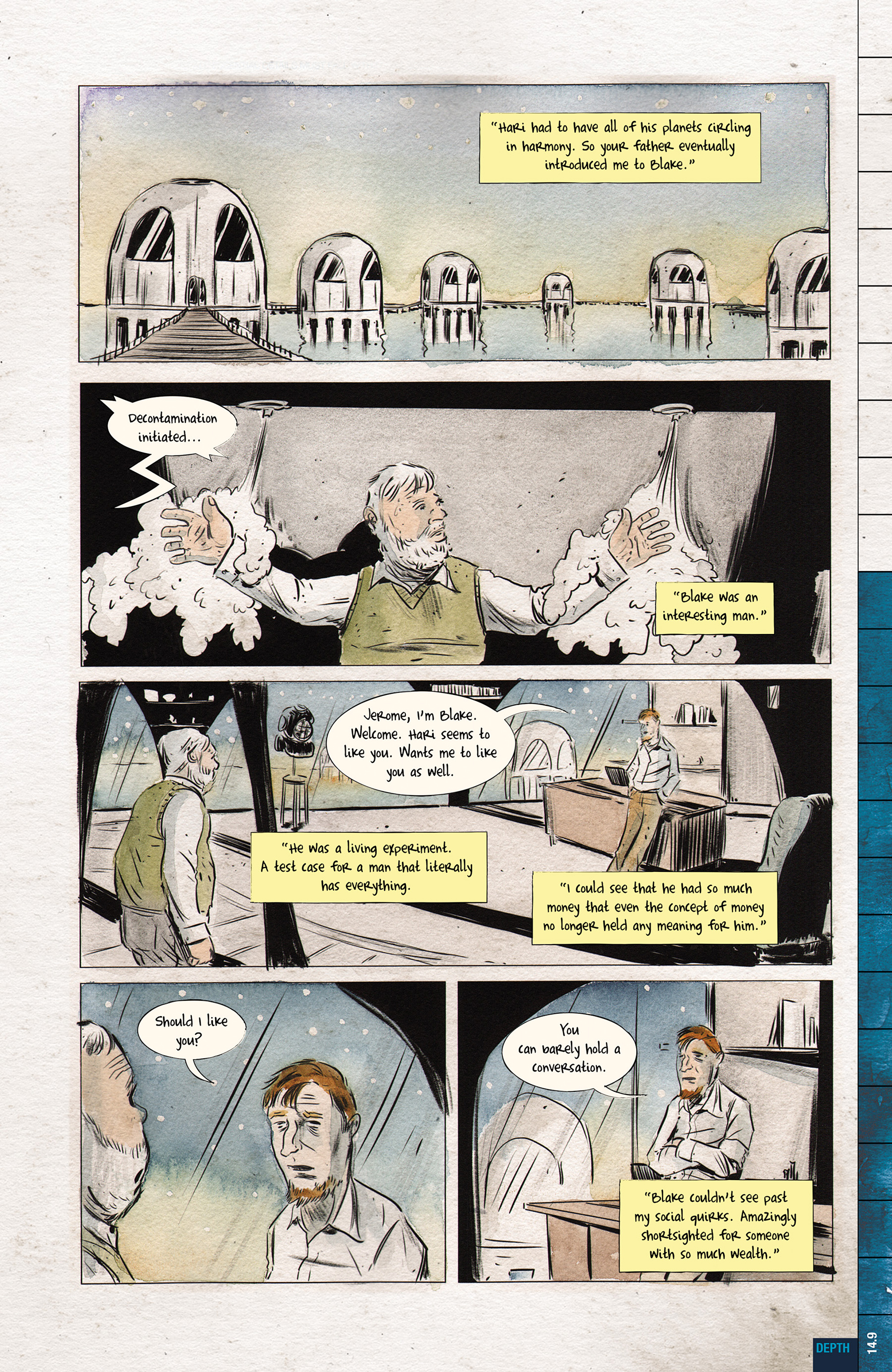 Read online Dept. H comic -  Issue #14 - 11