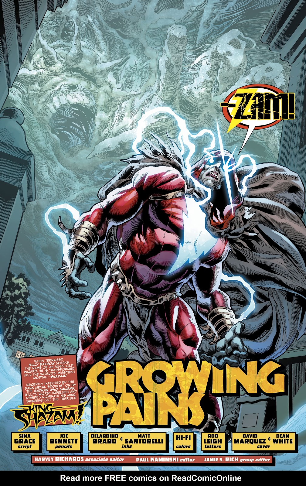 Read online The Infected: King Shazam comic -  Issue # Full - 5