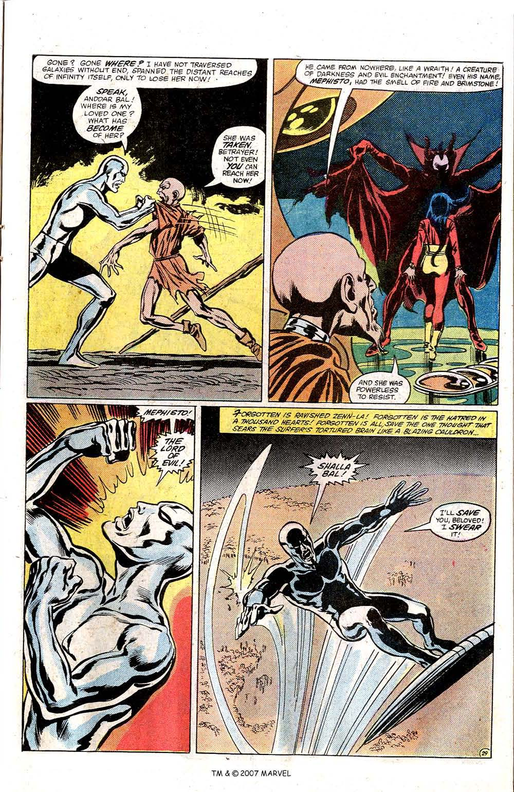 Read online Silver Surfer (1982) comic -  Issue # Full - 31