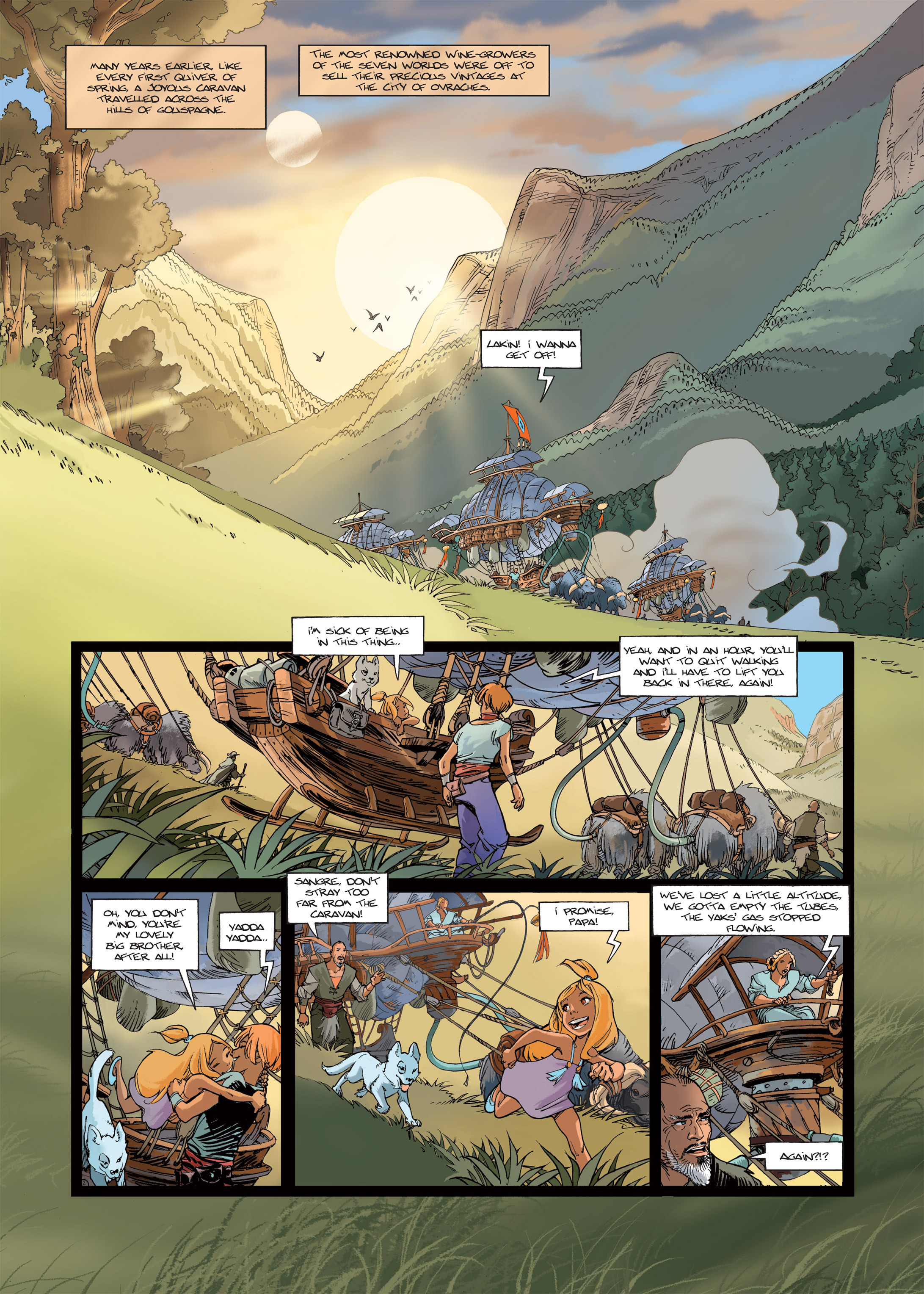 Read online Sangre Vol. 1: Sangre the Survivor comic -  Issue # Full - 4