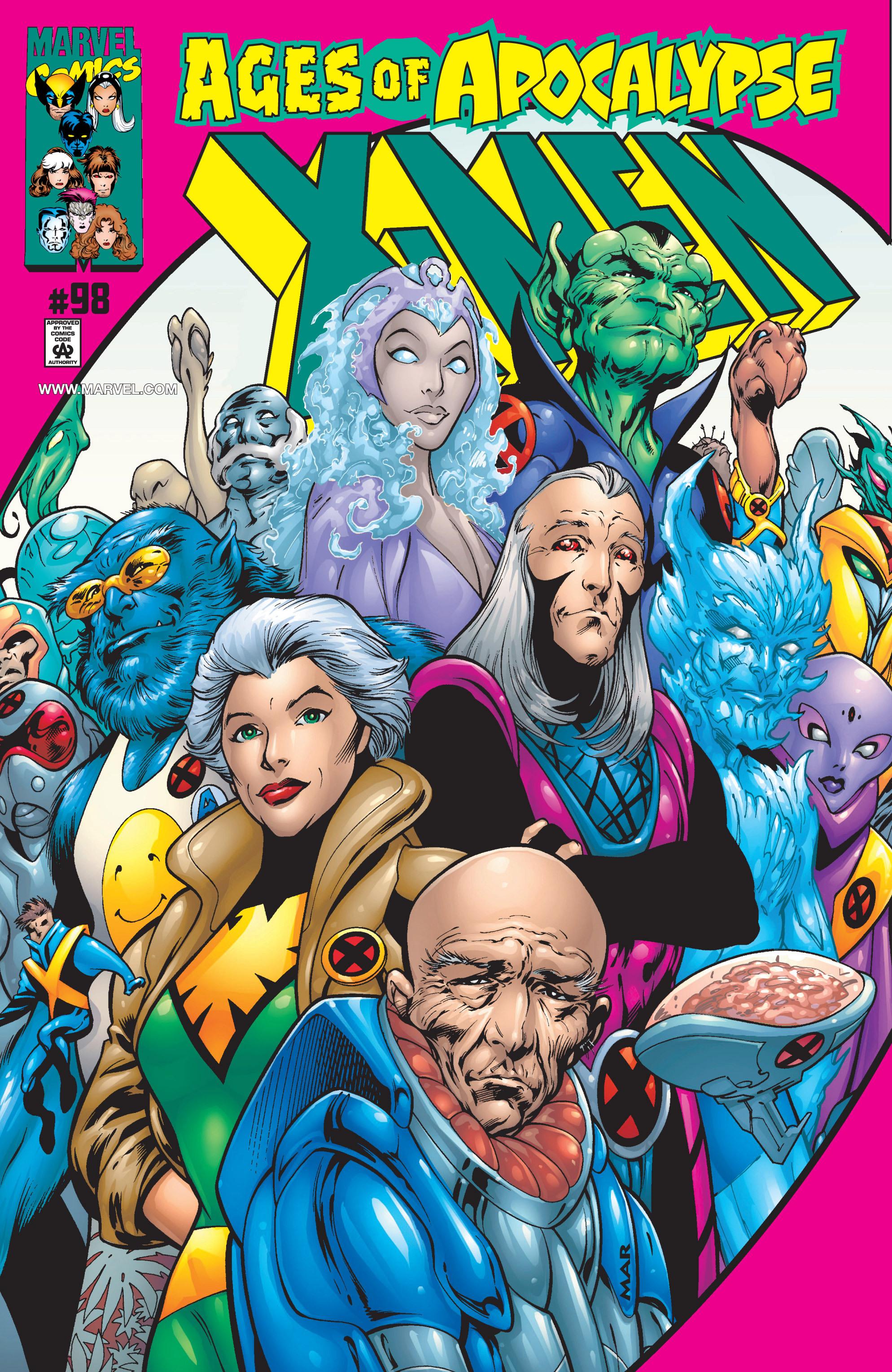 X-Men (1991) 98 Page 0