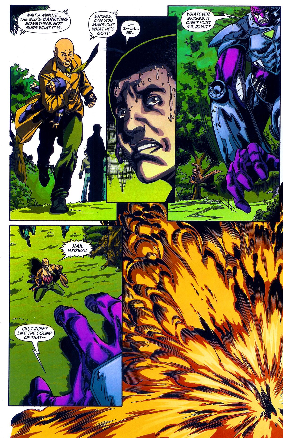 Read online Sentinel Squad O*N*E comic -  Issue #2 - 16