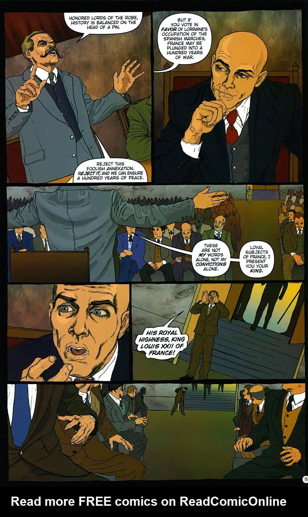 Read online Rex Mundi comic -  Issue #15 - 17