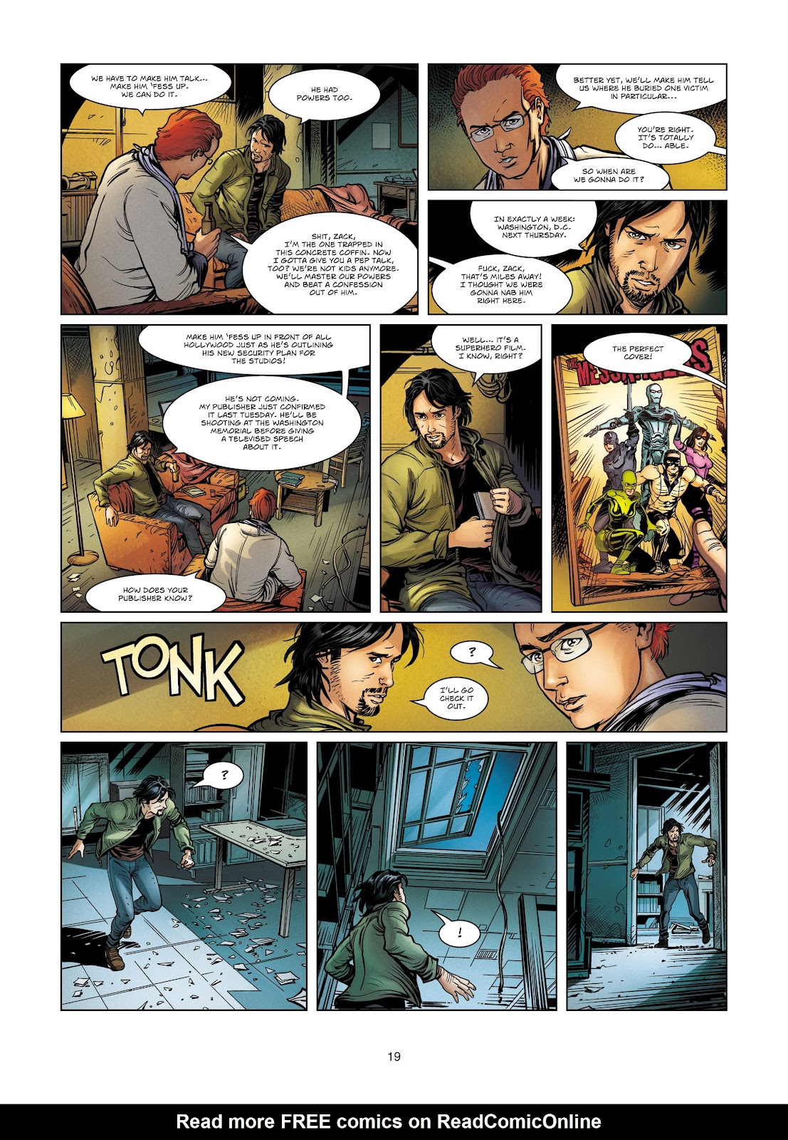 Read online Vigilantes comic -  Issue #4 - 19