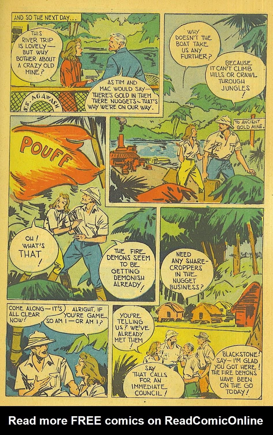 Read online Super-Magician Comics comic -  Issue #39 - 4