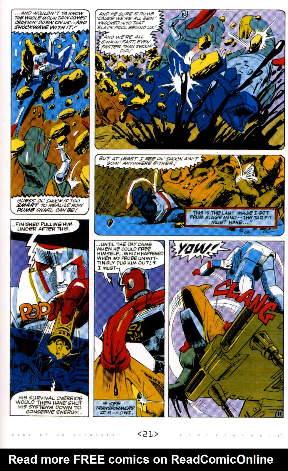 Read online The Transformers: Best of UK: Dinobots comic -  Issue #6 - 24