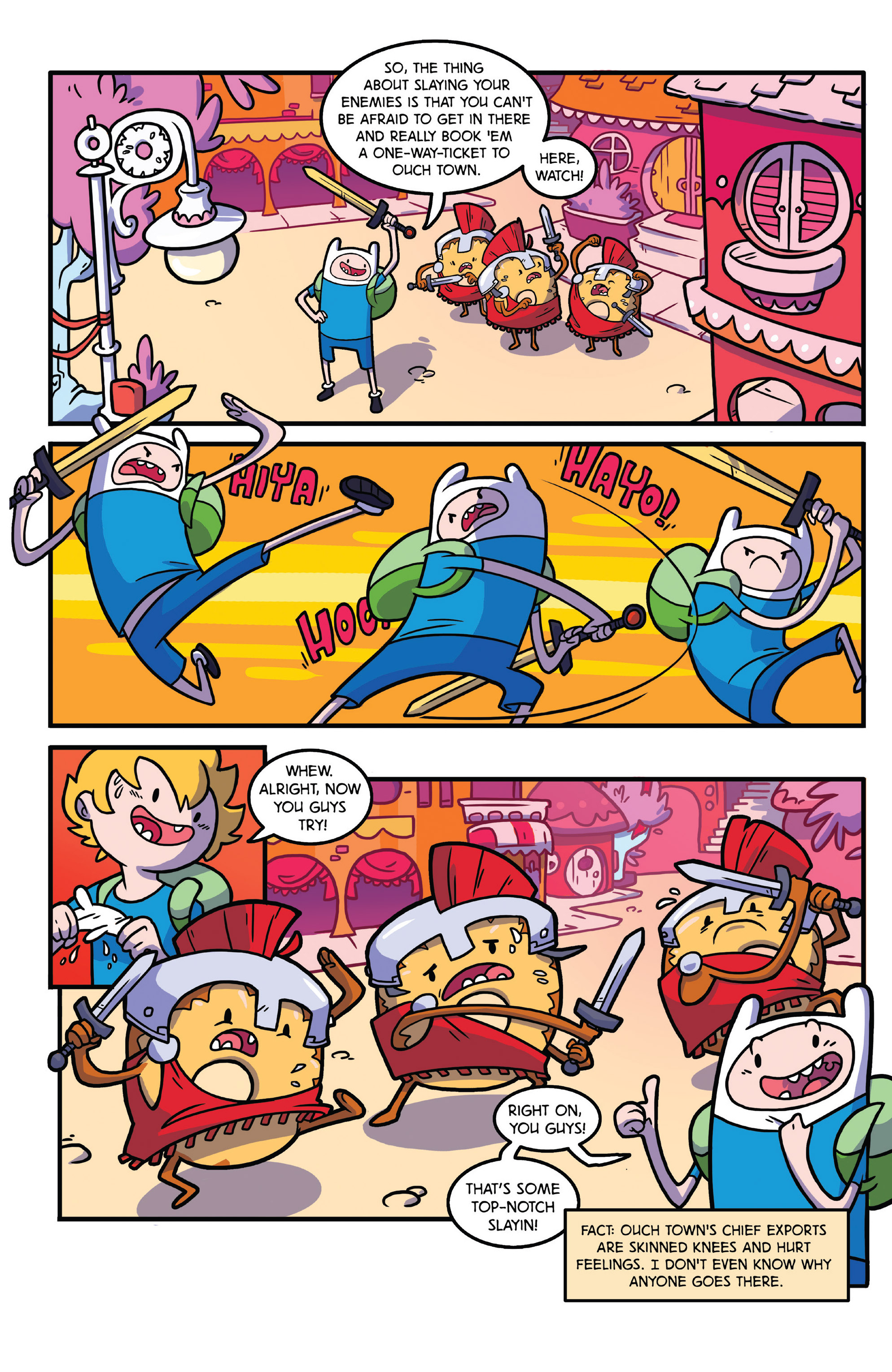 Read online Adventure Time comic -  Issue #28 - 22