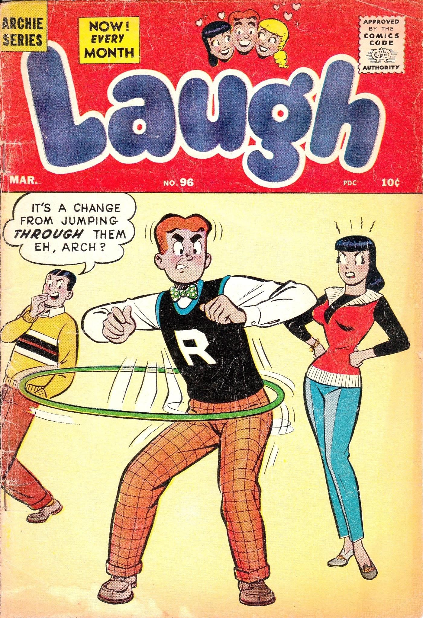 Laugh (Comics) 96 Page 1