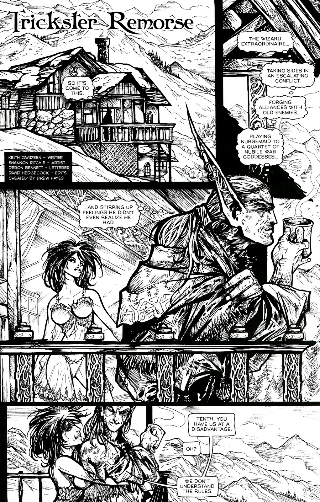 Read online Poison Elves (2013) comic -  Issue #3 - 23