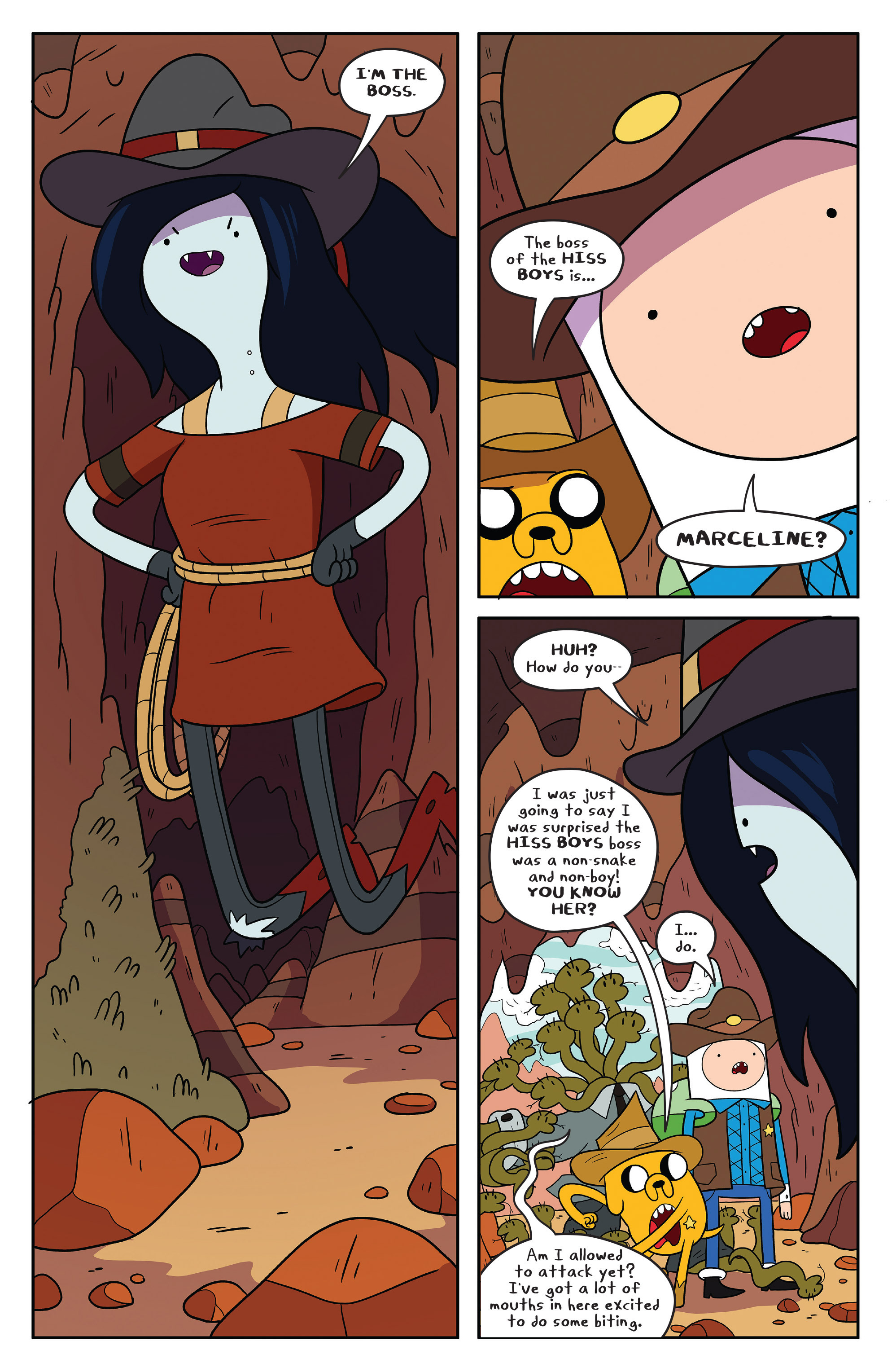 Read online Adventure Time comic -  Issue #54 - 17