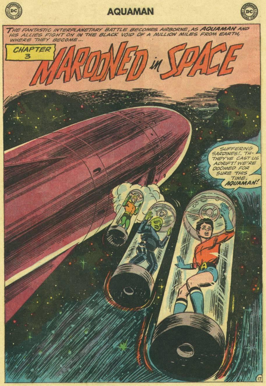 Read online Aquaman (1962) comic -  Issue #16 - 25
