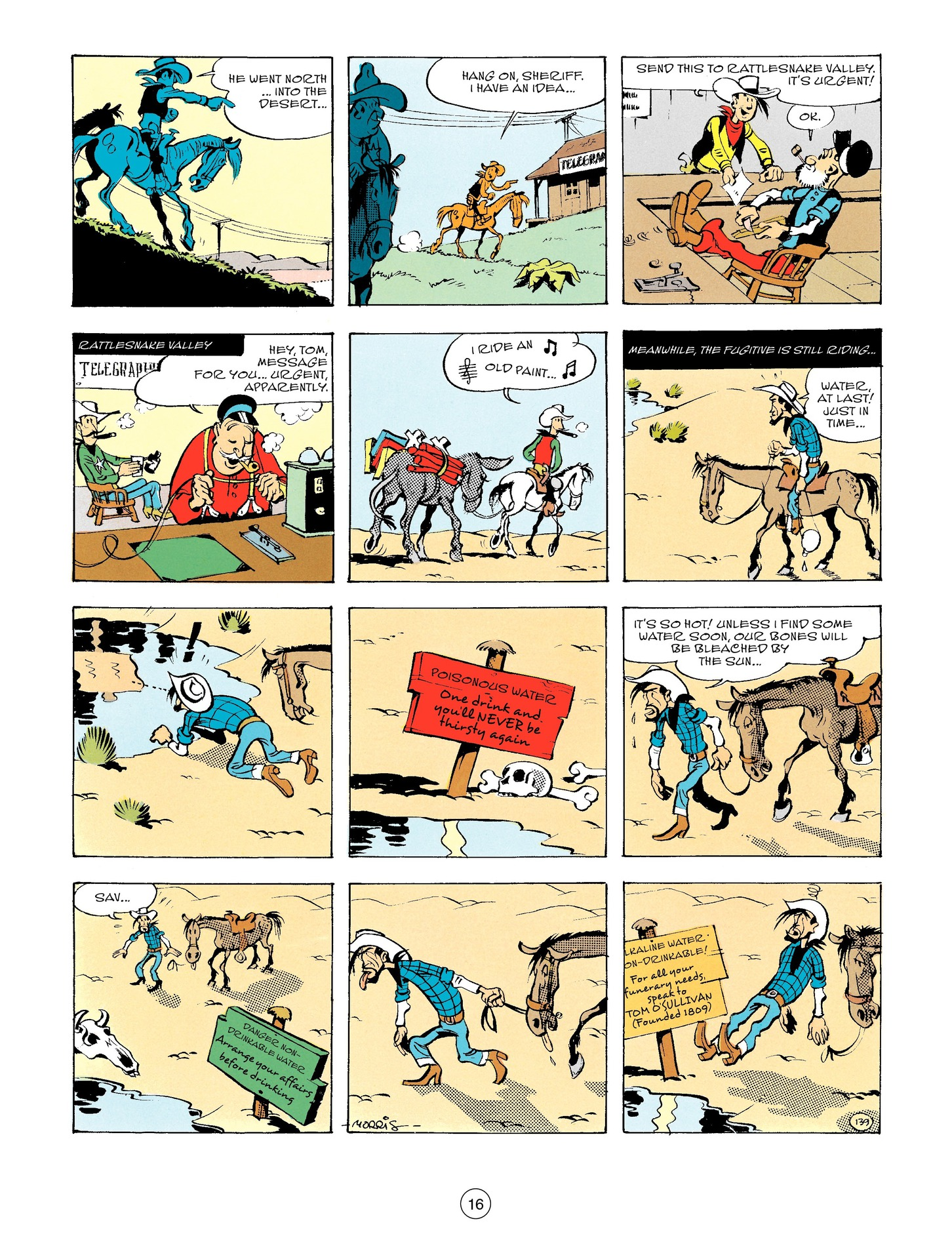 A Lucky Luke Adventure Issue 56 Viewcomic Reading Comics