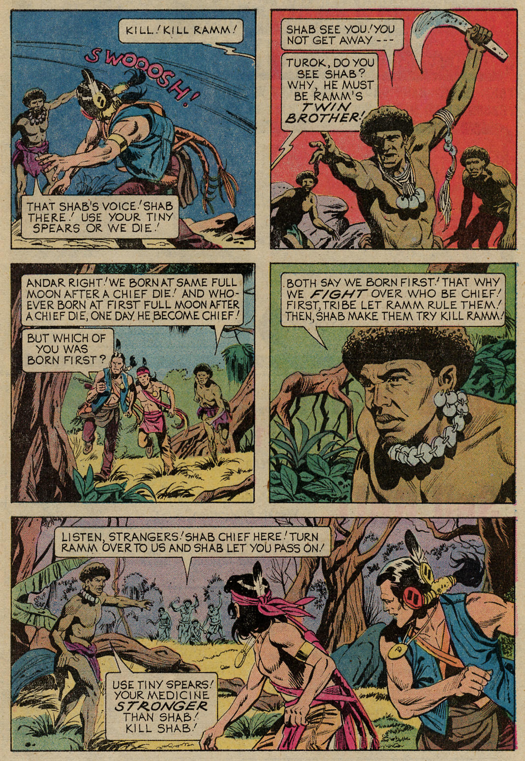 Read online Turok, Son of Stone comic -  Issue #98 - 23