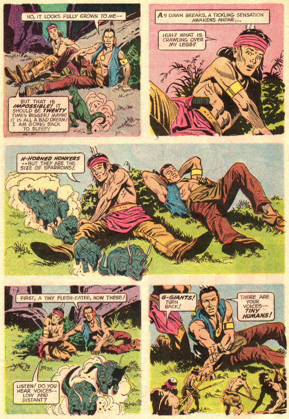 Read online Turok, Son of Stone comic -  Issue #67 - 4