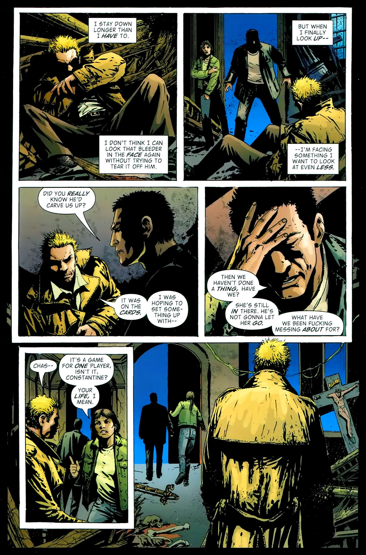Read online John Constantine Hellblazer: All His Engines comic -  Issue # Full - 87