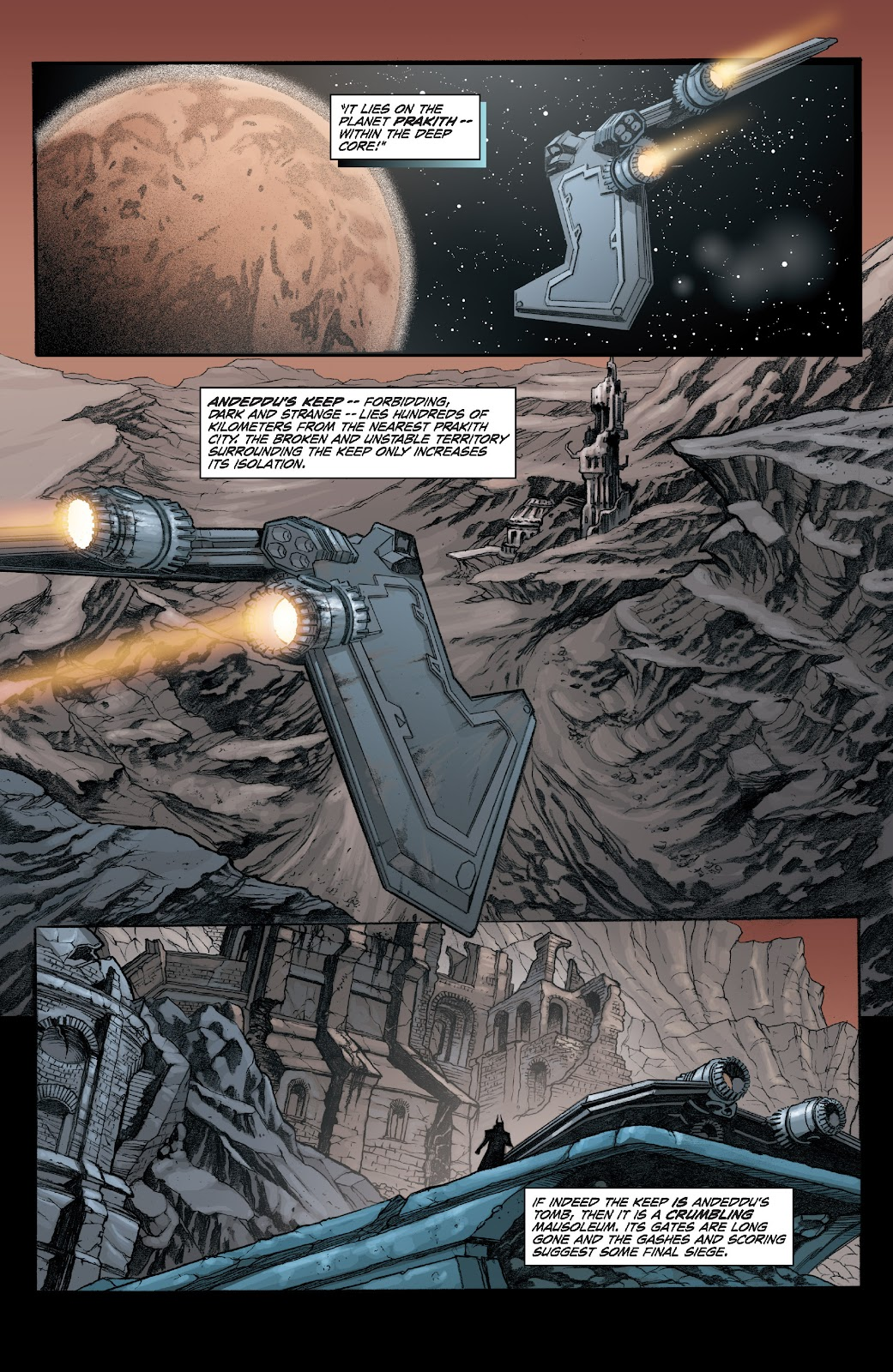 Read online Star Wars Legends: Legacy - Epic Collection comic -  Issue # TPB 2 (Part 1) - 60