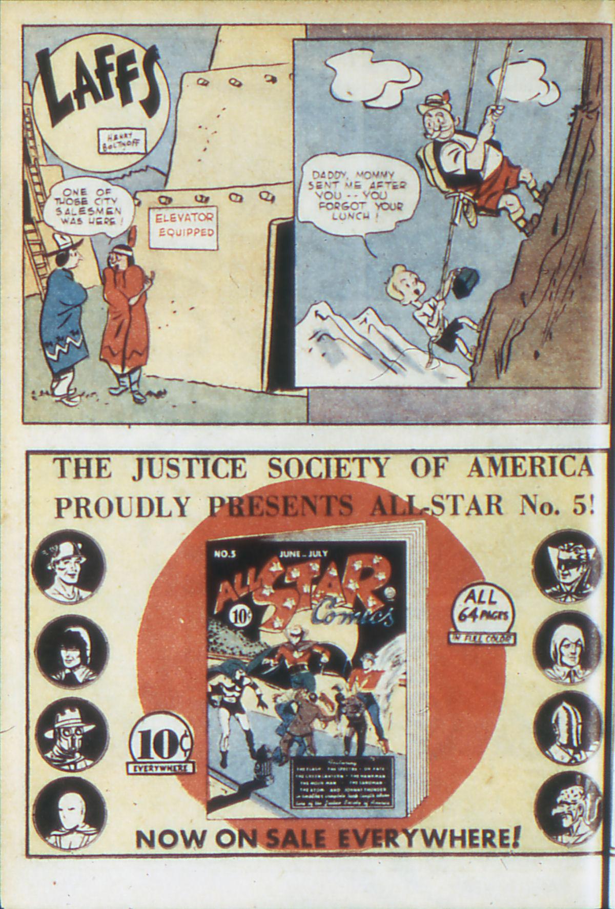 Read online Adventure Comics (1938) comic -  Issue #64 - 23