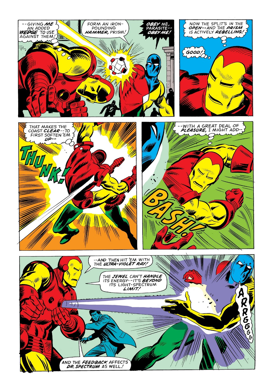 Read online Marvel Masterworks: The Invincible Iron Man comic -  Issue # TPB 9 (Part 3) - 20