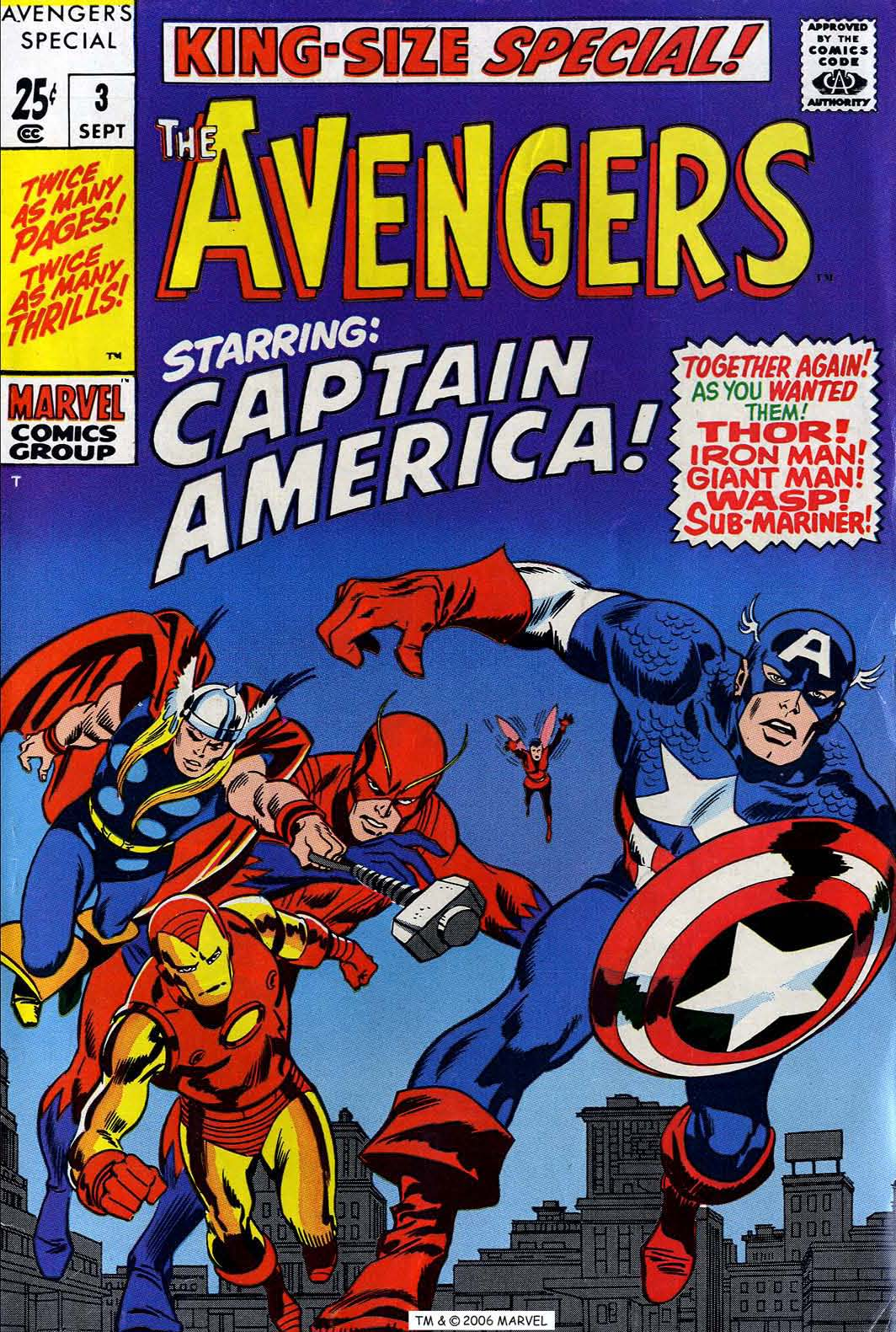 The Avengers (1963) issue _Annual_3 - Page 1