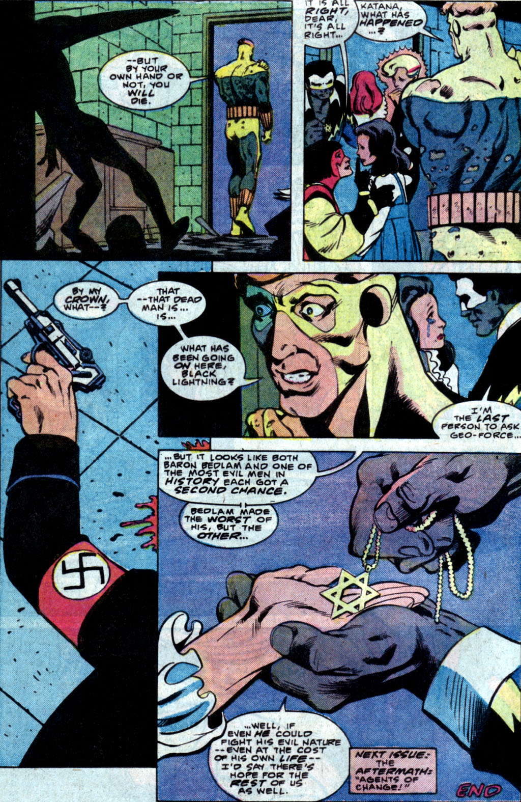 Read online Adventures of the Outsiders comic -  Issue #35 - 24