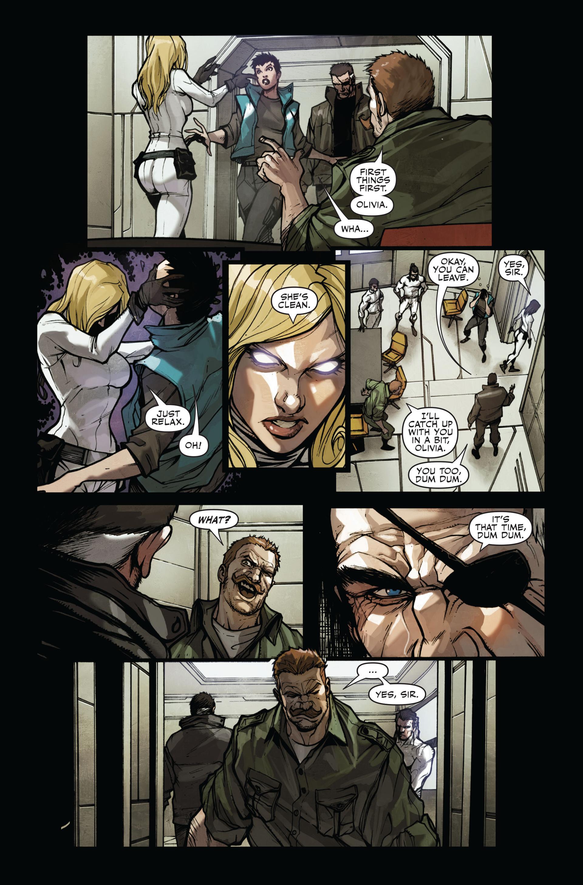 Read online Secret Warriors comic -  Issue #11 - 24