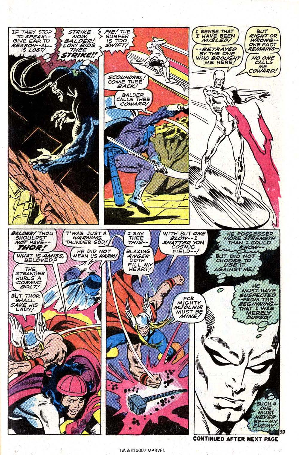 Read online Silver Surfer (1968) comic -  Issue #4 - 47