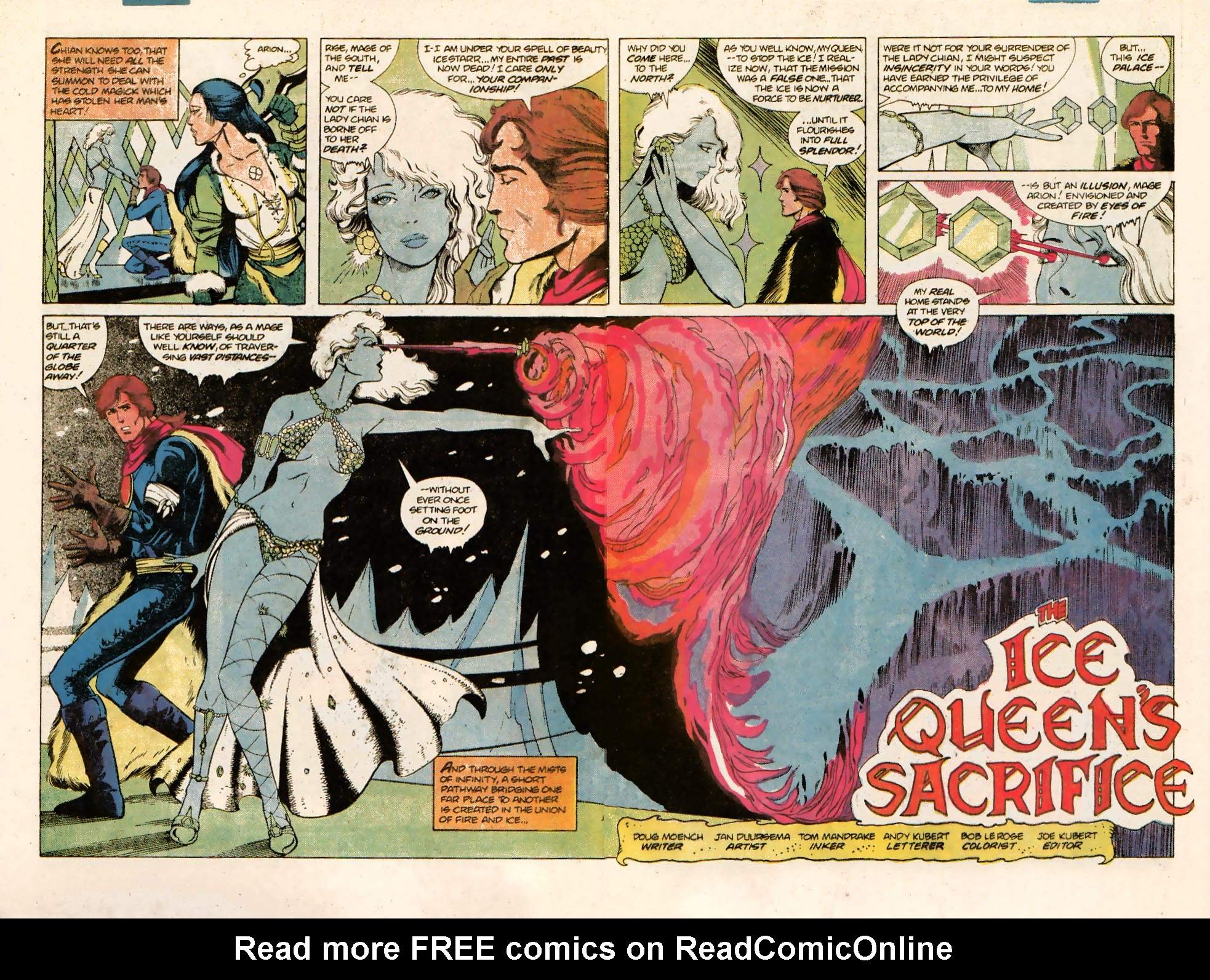 Read online Arion, Lord of Atlantis comic -  Issue #10 - 4