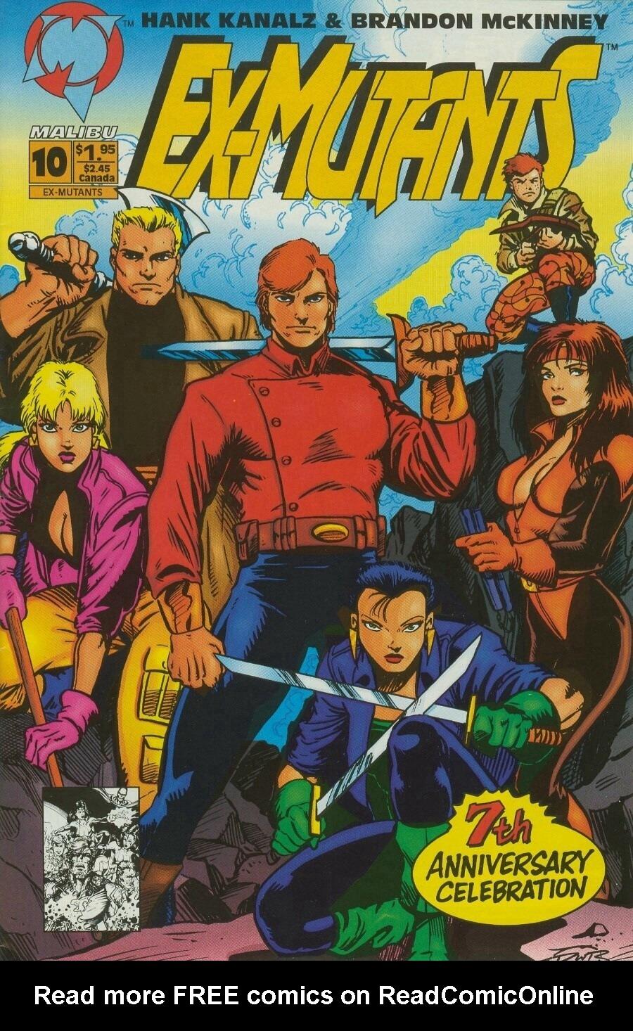 Read online Ex-Mutants comic -  Issue #10 - 1