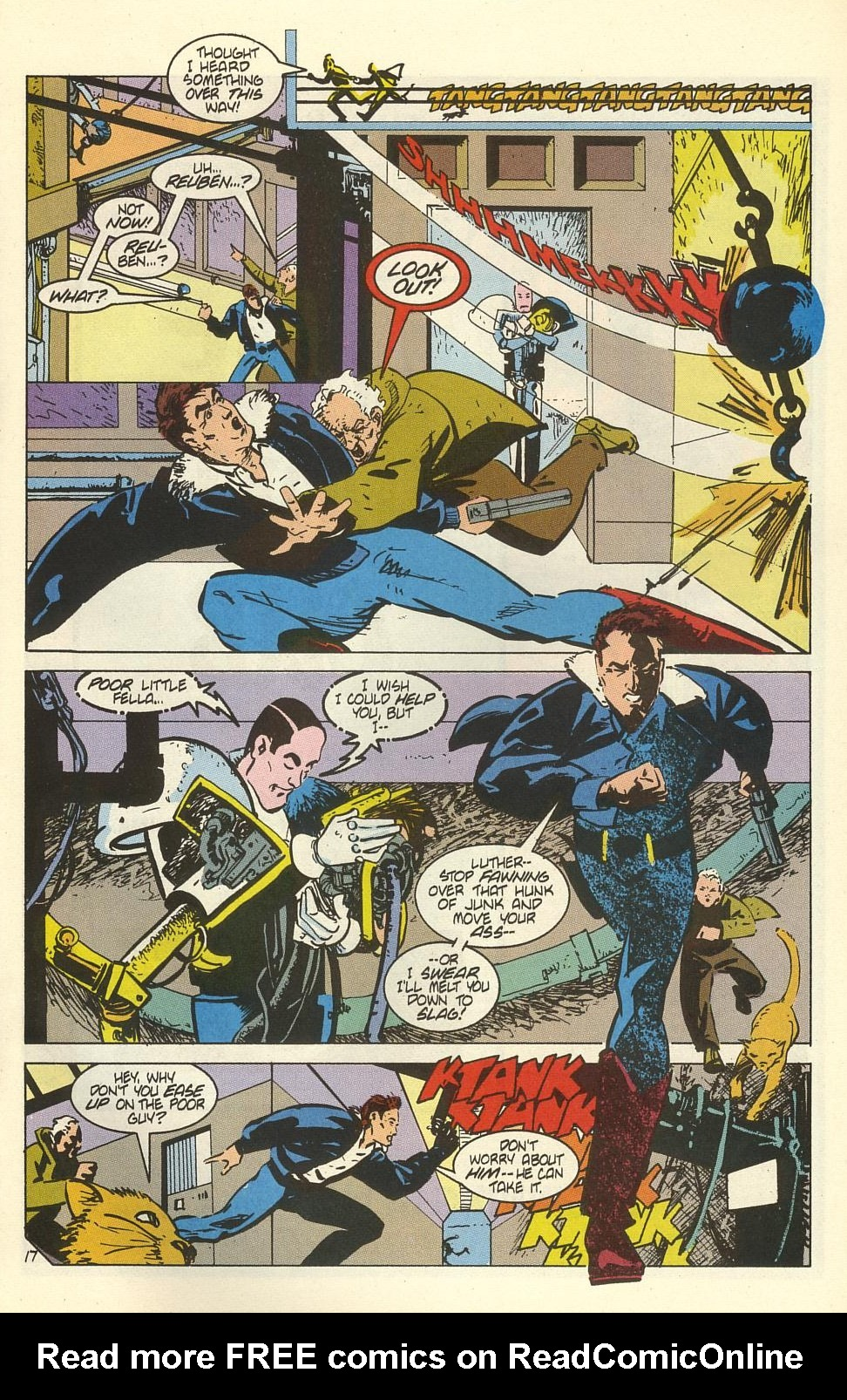 Read online American Flagg! comic -  Issue #41 - 21