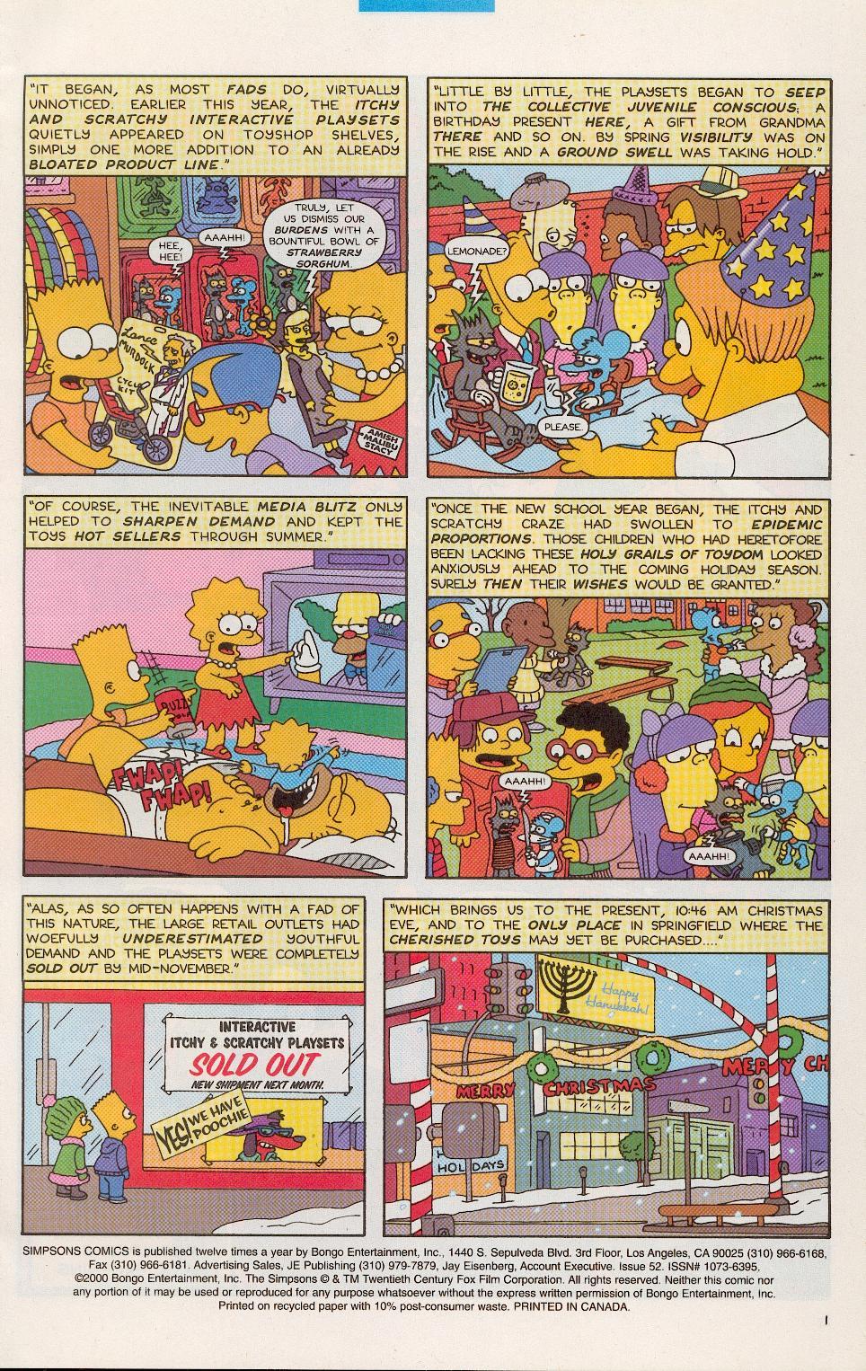 Read online Simpsons Comics comic -  Issue #52 - 2