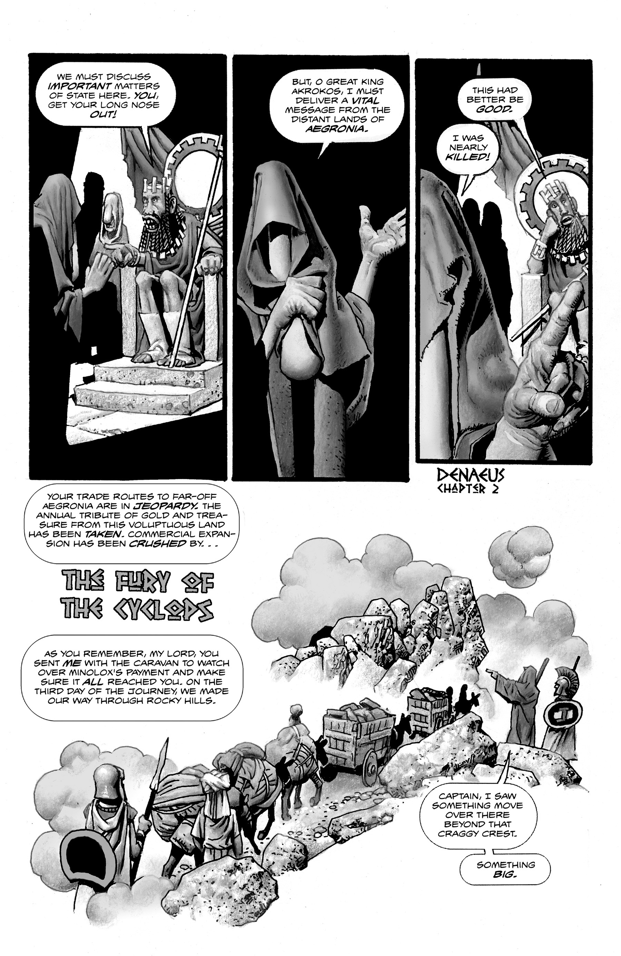 Read online Shadows on the Grave comic -  Issue #2 - 27