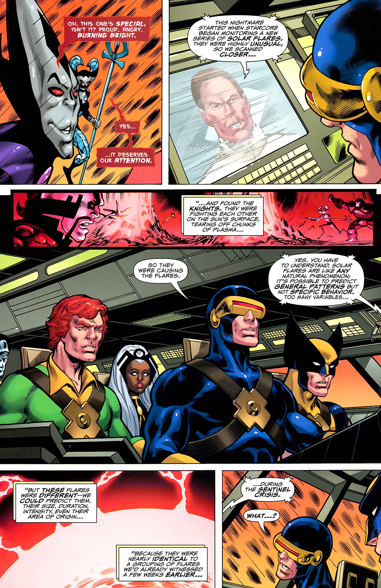 Read online Uncanny X-Men: First Class comic -  Issue #6 - 19
